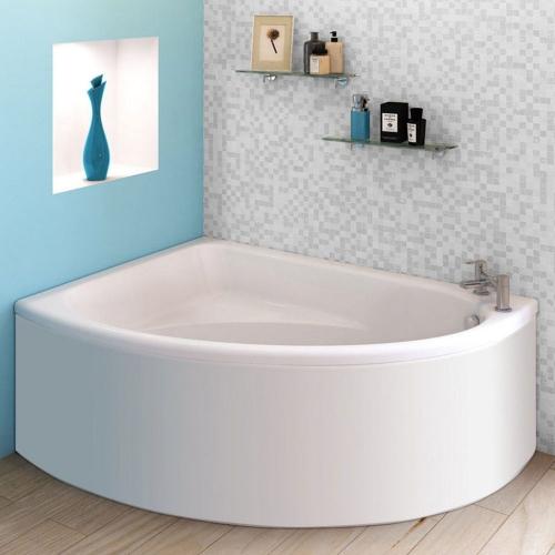 Trojan Orlando 1500 x 1000 Offset Corner Bath & Panel
