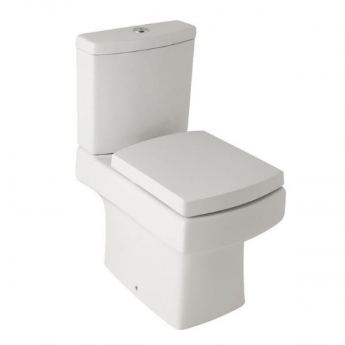Spruce Close Coupled WC Toilet Pan And Cistern by Arley - Including Supreme Soft Close Seat