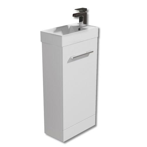 450mm Floor Standing Vanity Unit & Basin - Evora By Arley