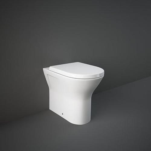 RAK Ceramics Resort Extra Comfort Height Back to Wall Toilet with Soft Close Seat