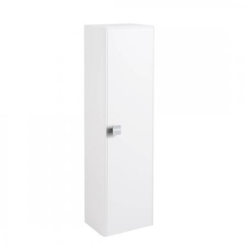 Hudson Reed Sarenna Textured White Wall Hung 350mm Tall Unit - FMB1623