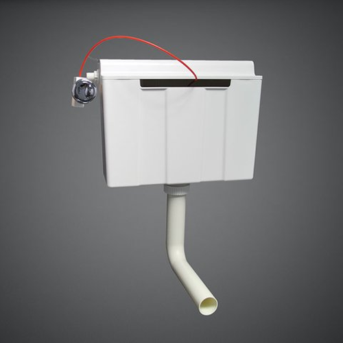 RAK Ceramics Back To Wall Furniture Concealed Cistern with Push Button