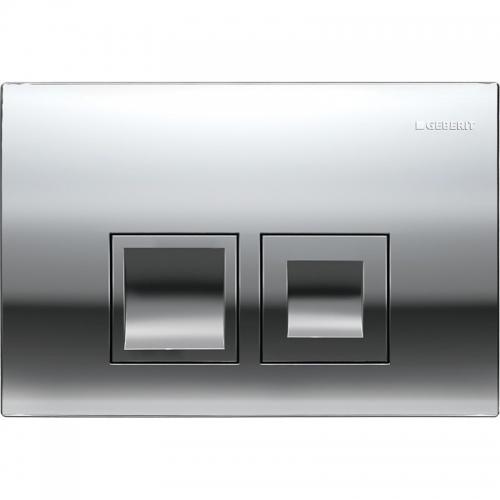 Geberit Delta50 Gloss Chrome Flush Plate 115.135.21.1