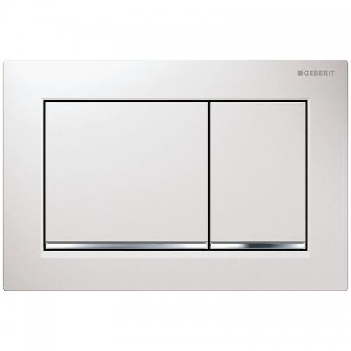 Geberit Omega30 Dual Flush Plate White 115.080.KJ.1