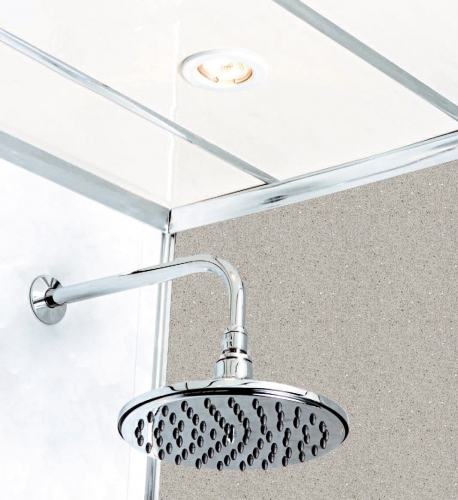 Grey Diamond Stone 2400 x 1000mm Shower Panel