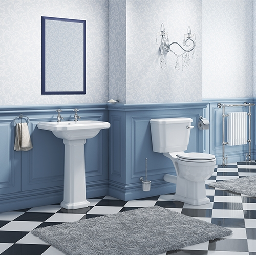 Synergy Henbury Full 4 Piece Cloakroom Suite