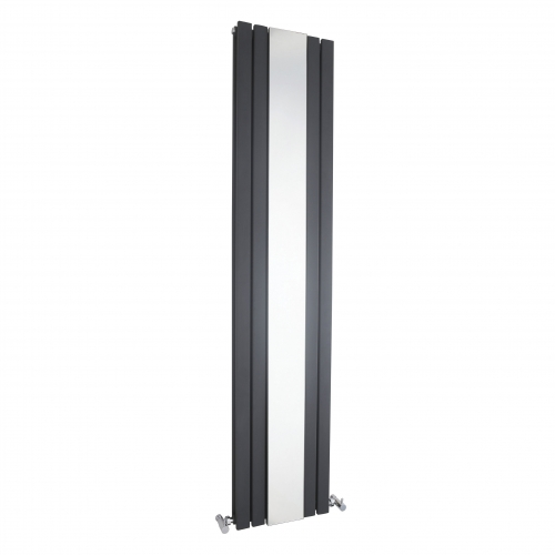 Hudson Reed Sloane Anthracite Double Panel with mirror H1800 x W381 mm HLA84