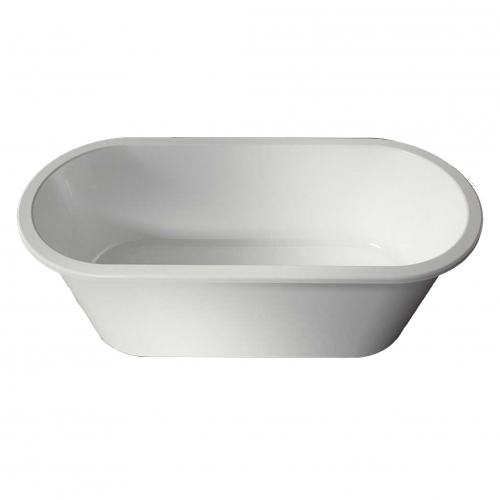 Voda Design Onega Solid Surface Stonecast Bath 1562mm
