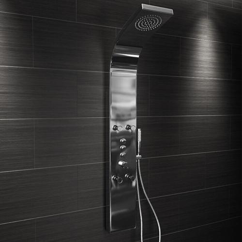 Jensen Edwards Deluxe Stainless Steel Dream Shower Panel