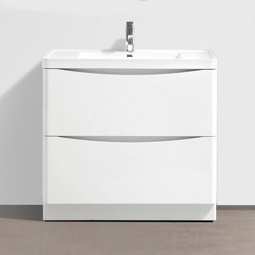 Voda Design Zen 900mm Floor Standing Vanity Unit with Basin