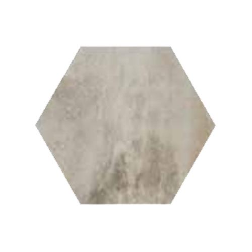 RAK Ceramics Country Brick Light Grey Hexagonal Tiles (20 x 23)