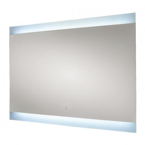 RAK Ceramics Manhattan 2 LED Mirror with Demister and Shaving Socket 600x800