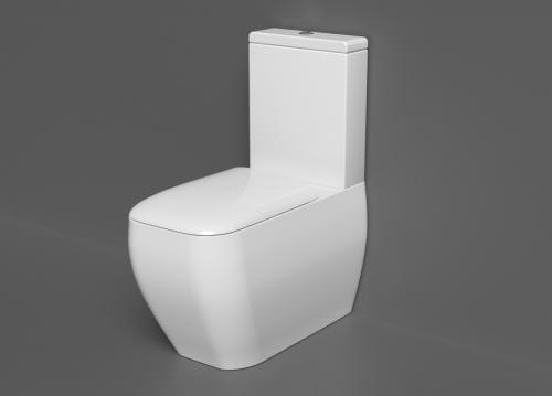 RAK Metropolitan BTW WC Pack with Soft Close Seat (Urea)