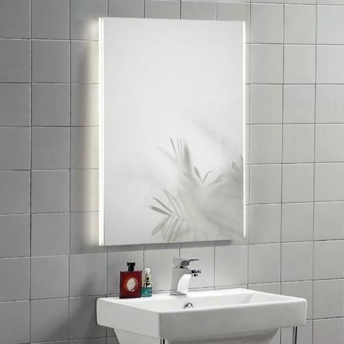 Illuminated Mirror with Demister Technology - Polaris by Voda Design
