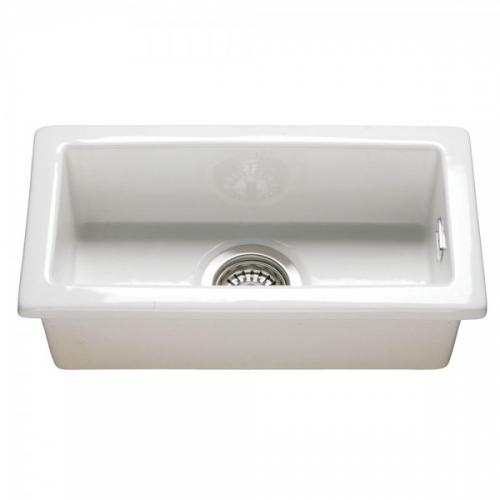 RAK Ceramics Gourmet Kitchen Sink 7 with Waste, Overflow Plumbing Kit and Fixing Plate