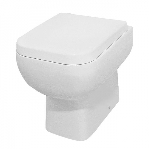Arley Series 600 Back to Wall Pan with Soft Close Seat