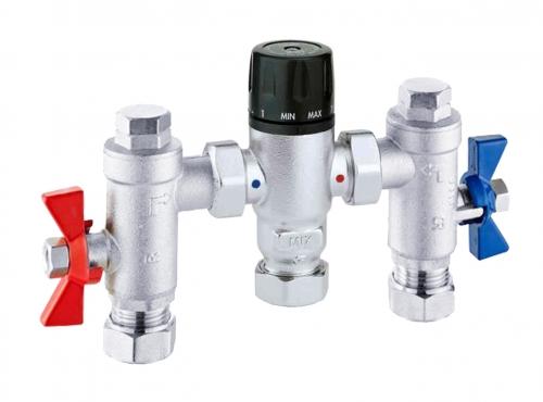 RAK Ceramics Compact Commercial Thermostatic Mixing Valves