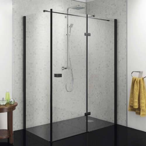 Hinged Shower Enclosure - Right Hand - Kaso 8 Star by Voda Design (8mm Thick)