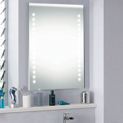 Mirror 101 With IR Switch, LED Clock & Demister - By Voda Design