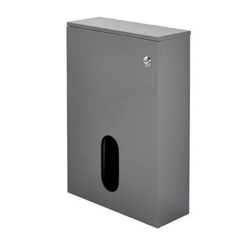 Salona 500mm WC Back To Wall Unit - Grey