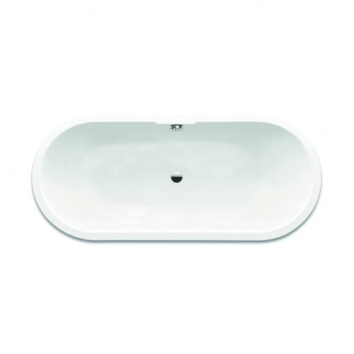 Freestanding Modern Double Ended Bath - San Marlo by Synergy