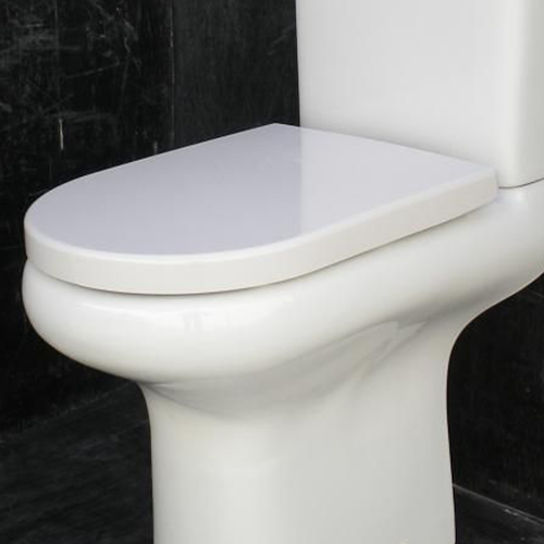 RAK Ceramics Compact Rimless Soft Close Urea Seat