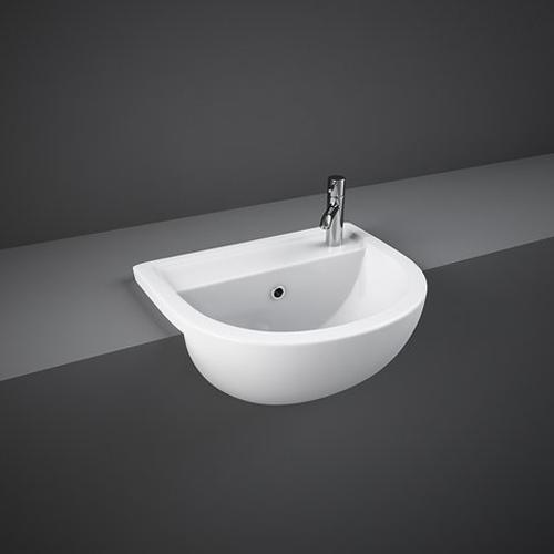 RAK Ceramics Compact Semi-Recessed Basin