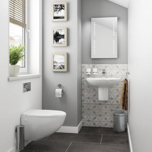Lyon Wall Hung Bathroom Suite