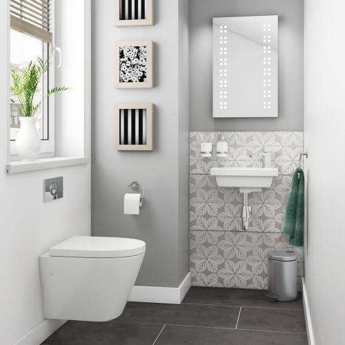 Marbella Wall Hung Bathroom Suite