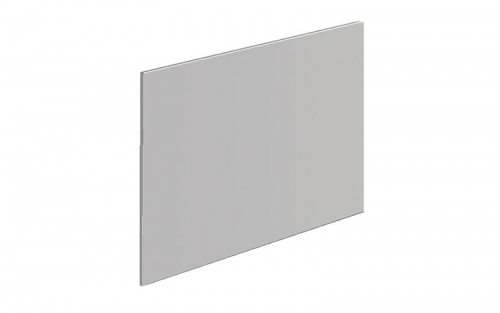 York 700mm Grey Bath End Panel