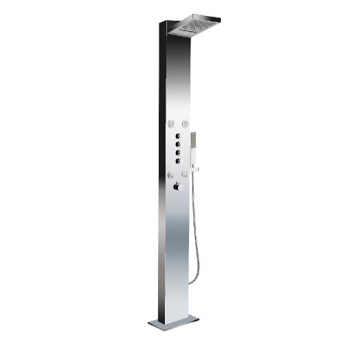 Deluxe Stainless Steel Big Ben Floor Standing Shower Panel
