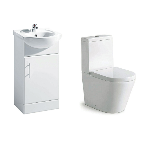 Navero 450mm Furniture & Toilet Bundle