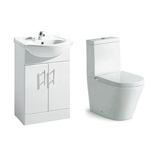 Navero 550mm Furniture & Toilet Bundle
