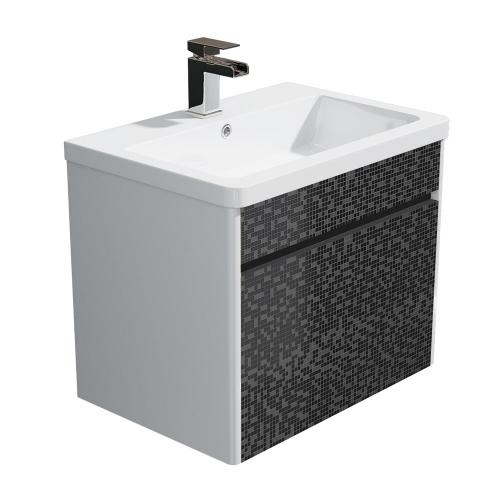 600mm Wall Hung Vanity Unit & Basin - Tetris