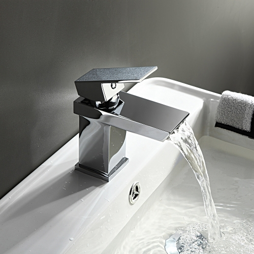 Mono Basin Mixer Tap with Waste - Series BY by Voda Design