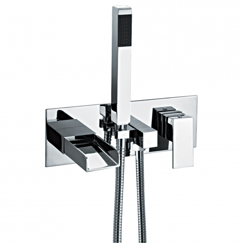 Wall Mounted Bath Shower Mixer - Series AO by Voda Design