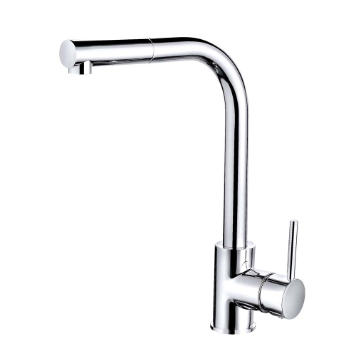 Dyche Pull Out Kitchen Mixer Tap - By Voda Design