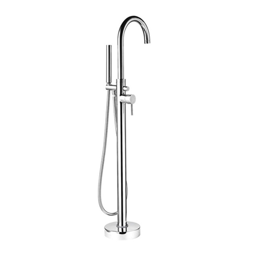 Contemporary Freestanding Bath Shower Mixer - By Voda Design