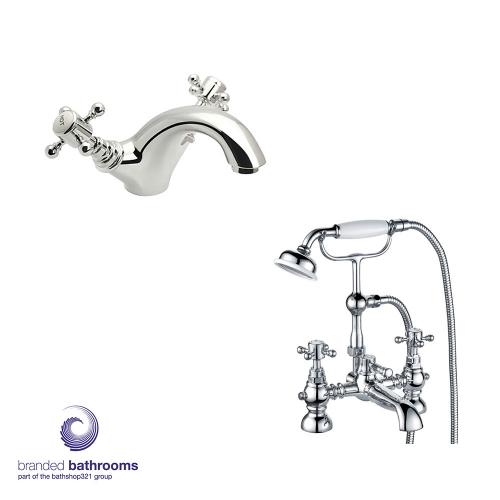 Traditional Tap Set Bathrooms Mono Basin Mixer, Bath Shower Mixer