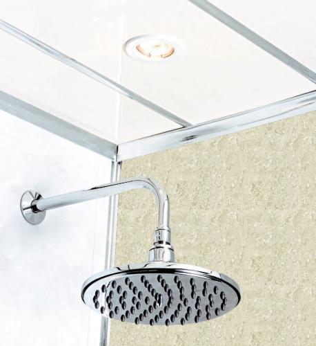 Travertine Diamond Stone 2400 x 1000mm Shower Panel