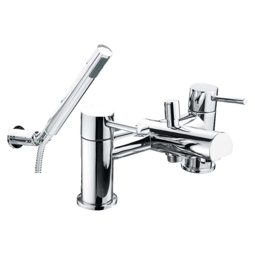 Solent Bath Shower Mixer with Shower Kit - By Voda Design