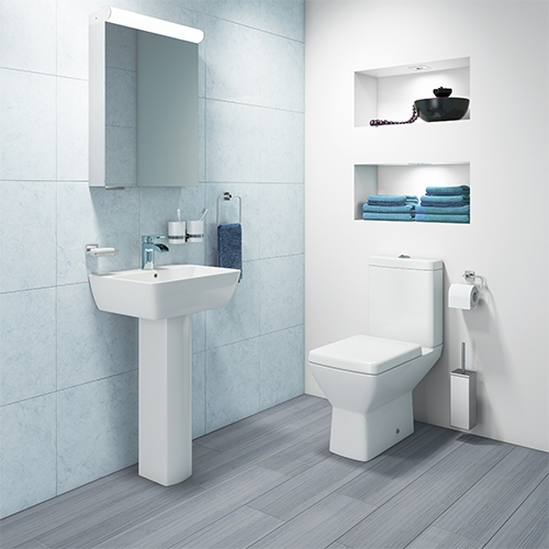 Synergy Valencia Full 4 Piece Cloakroom Suite