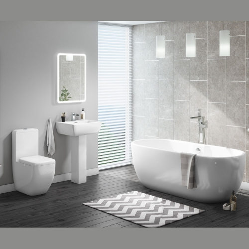 Modern Freestanding Bath Suite - Manhattan