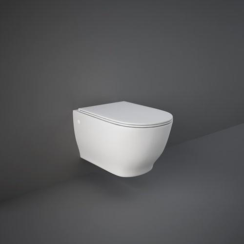 RAK Ceramics Harmony Wall Hung Toilet with Soft Close Seat