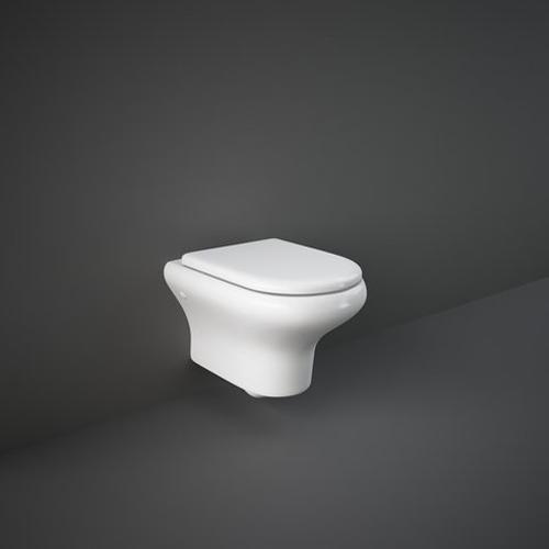 RAK Ceramics Compact Wall Hung Toilet with Soft Close Seat