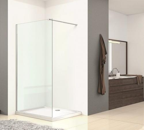 Walk In Shower Enclosure Wetroom Panel - Kaso 8 by Voda Design (8mm Thick)