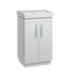 Tavistock Compass 500 Freestanding Vanity Basin Gloss White Unit