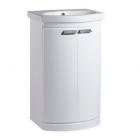 Tavistock Tempo 500 Freestanding Gloss White Vanity Basin Unit