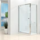 Synergy Vital 4mm Pivot Shower Door and Side Panel Pack