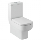 Arley 600 Close Coupled WC Toilet And Soft Close Seat